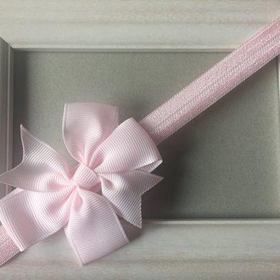 Κορδέλα ροζ με φιόγκο