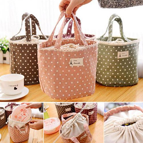 παιδική-τσάντα-φαγητού-ροζ-πουά1